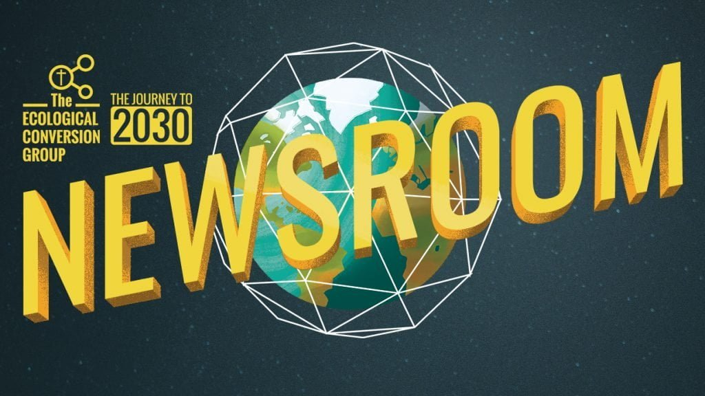 """Journey to 2030 Newsroom"" banner"